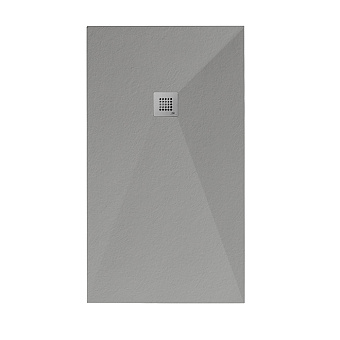 Noken Slate Душевой поддон 140x80см, Mineral Stone, цвет: серый