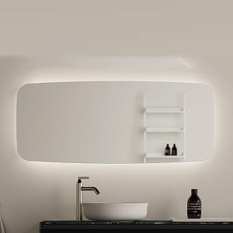 Agape Seppia Зеркало 120х50х3.8см., с LED подсветкой, горизонтальная или вертикальная