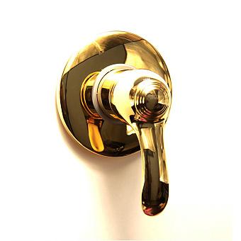 Webert Aurora Смеситель для ванны, встраиваемый, без душевого гарнитура, цвет: золото