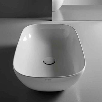 GLOBO T-Edge Раковина-чаша 60х41х16 см, без отв., на столешницу, цвет: белый