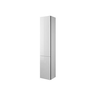 Burgbad Iveo Пенал 176х32х35см., DX, 4 стеклянные полочки, 1 несъемная цвет F2833, цвет: белый глянец