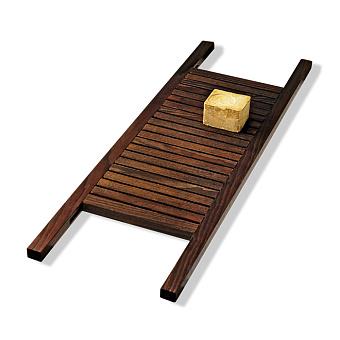 Decor Walther Wood WAN Полка для ванны 85x24см, цвет: темный ясень