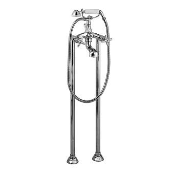 Stella Italica Напольный смеситель для ванны 3274CL306 с ручным душем, цвет: хром