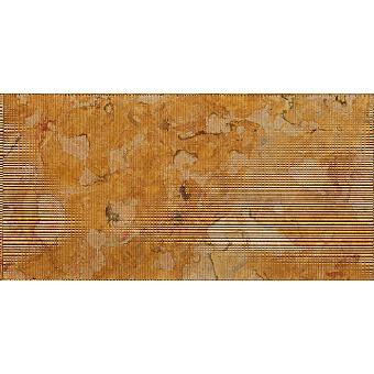 Lithos Design Cesello Натуральный камень 61x30.5x1см, настенный, материал: мрамор giallo reale/khadi