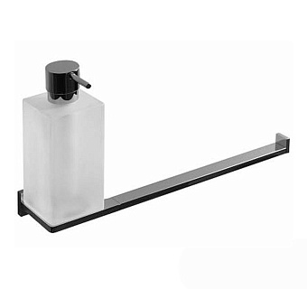 Colombo Look B1674 Полотенцедержатель с дозатором жидкого мыла подвесной