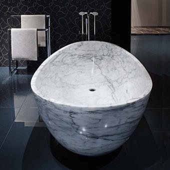 Rifra Smooth Ванна отдельностоящая 180х80х45.5 см, натуральный камень