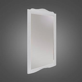 KERASAN Retro Зеркало в деревянной раме 63xh116см, цвет: bianco matt