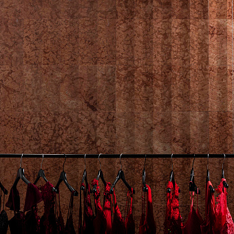 Lithos Design Cesello Натуральный камень 61x30.5x1см, настенный, материал: мрамор rosso pastello/pagoda