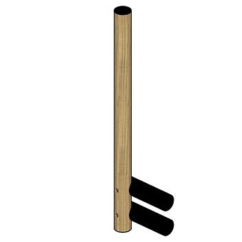 Agape Dot line Держатель Т/Б, высота:42см, цвет: натуральный дуб