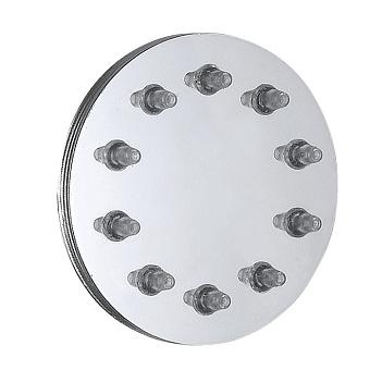 Bongio Soffioni Боковой душ круглый, цвет: хром