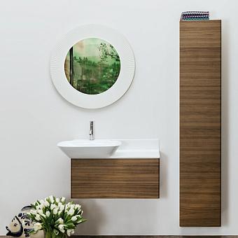 Laufen INO Шкаф подвесной, 360х305х1800мм, с 1 дверцей, DX, цвет: темный орех