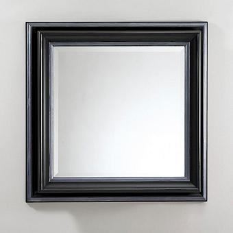 Devon&Devon Black Harold Зеркало, цвет: черный