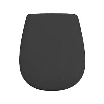 Artceram Atelier Сиденье для унитаза с микролифтом, цвет: черный матовый
