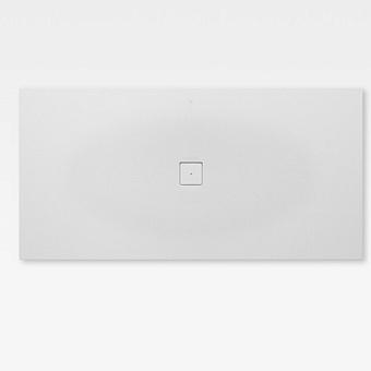 Armani Roca Baia Душевой поддон 200х100х3.2см с центральным сливом, с anti-slip, мат-л: Stonex, цвет: off-white