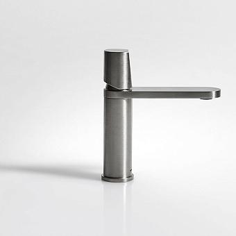 Antonio Lupi Indigo Смеситель для раковины, на 1 отв., излив: 165мм, цвет: Satin Stainless Steel Finish