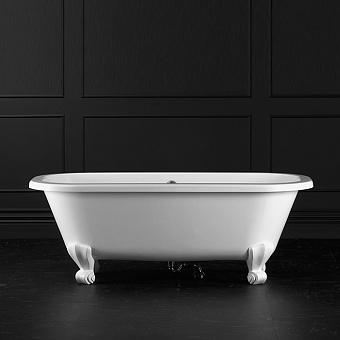 Victoria + Albert Richmond, Ванна 167.5х74.5 см, ножки Quarrycast белые, цвет: белый