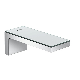 Axor MyEdition Излив для ванны, настенный 200мм, цвет: хром/зеркальное стекло