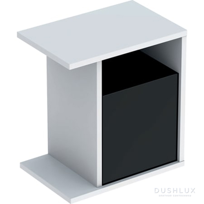 Geberit iCon Подвесной шкафчик с многофункциональным ящиком 37х40х24.5см,, цвет: белый