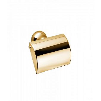 Держатель для туалетной бумаги Bongio Axel, подвесной монтаж, цвет: золото 24к.