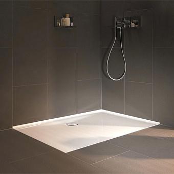 BETTE Floor Душевой поддон 80х80х3.5 см, квадратный, D9см, цвет: белый