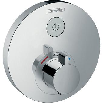 Hansgrohe ShowerSelect S Смеситель для душа, термостатический, 1 источник, цвет: хром