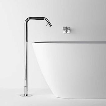 Agape Memory Напольный смеситель для ванны, без регулятора температуры, высота: 115см, цвет: хром