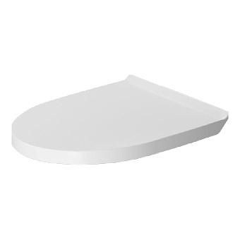Duravit DuraStyle Сиденье съемное для унитаза BASIC, петли нерж сталь, без микролифта, цвет: белый