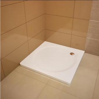 Kaldewei Sanidusch, душевой поддон материал сталь-эмаль 3,5 мм, диаметр слива 52 мм, 900*900*140 мм, (необходимо доукомплектовать ножками 5200 и сифоном), Цвет: белый