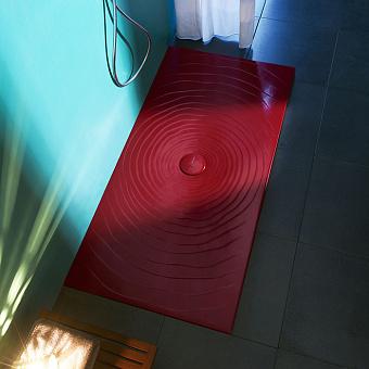 Flaminia Water Drop Душевой поддон 80x160xh5.5см, цвет: rosso rubens