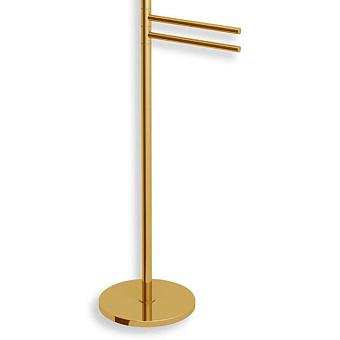 Bertocci Cinquecento Полотенцедержатель напольный 90 см, цвет: золото