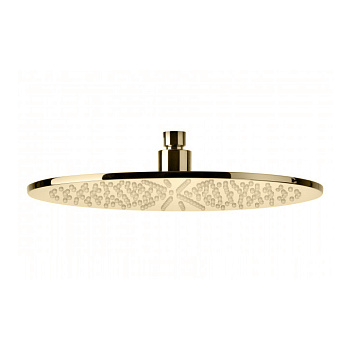 Bongio Soffioni Верхний душ, D300 мм, цвет: золото