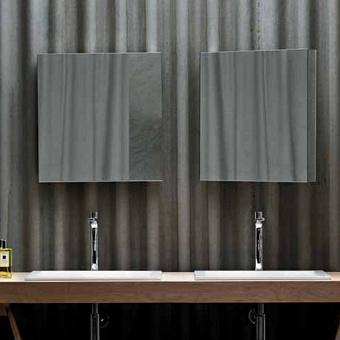 AZZURRA Зеркальный шкаф с 1 дверкой зеркалом, 58х60h см