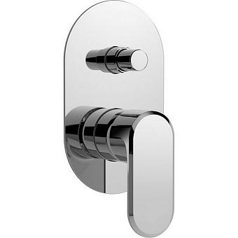 CISAL LineaViva Встраиваемый однорычажный смеситель для ванны/душа, цвет хром