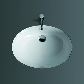 SIMAS Top e lavabi d'arredo Раковина 58х43.5 см, без отв., цвет: белый