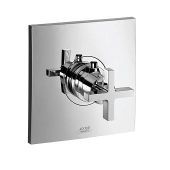 Axor Citterio, Термостат Highflow,с крестовой рукояткой, СМ, цвет: хром