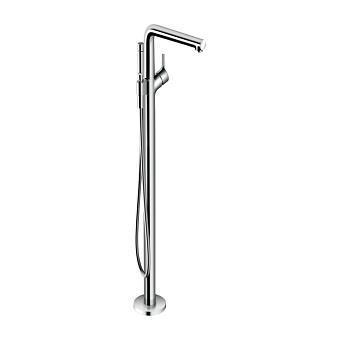 Hansgrohe Talis S Смеситель для ванны,напольный, излив 245мм, h979мм, с ручным душем 2jet, цвет: хром