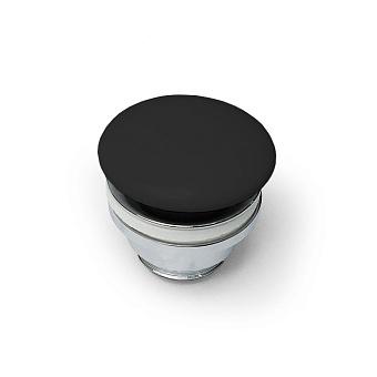 Artceram Донный клапан для раковин универсальный, покрытие керамика, цвет: черный