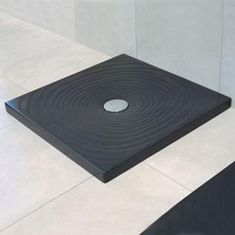 Flaminia Water Drop Душевой поддон 80x80xh5.5см, цвет: nero