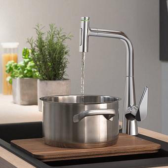 Hansgrohe Talis Select M51 Смеситель для кухни, 1 отв., цвет: хром
