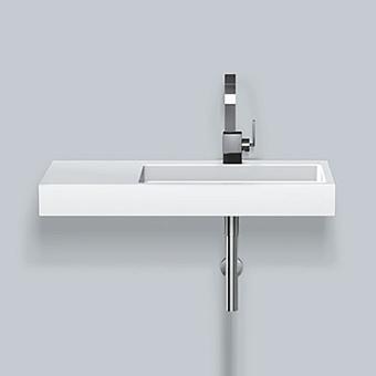 Alape WT Раковина 100х46х h11см., с 1 отв., DX, подвесная, цвет: белый