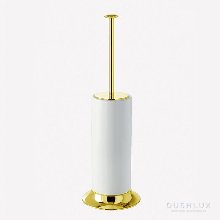 Webert Opera Ершик напольный, латунь, цвет: золото