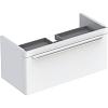 Geberit myDay Тумба с раковиной, 88х41х43см, с 1 отв., подвесная, с одним выдвижным ящиком, цвет: белый