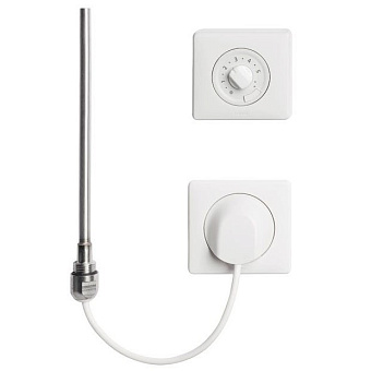 Kermi Электрокомплект WFS белый, 800 Вт, регулятор Funk-Standard
