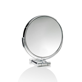 Decor Walther SPT 50/V Косметическое зеркало 17см, настольное, увел. 7x, цвет: хром