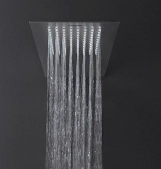 Antonio Lupi Душевая система Bilastra 20,7x50,3x0,2 см, цвет: Acciaio Lucido