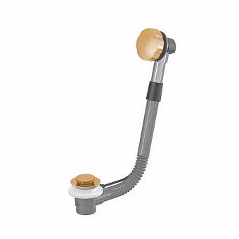 Nicolazzi Complementi Слив-перелив (автоматический) для ванны, цвет: золото