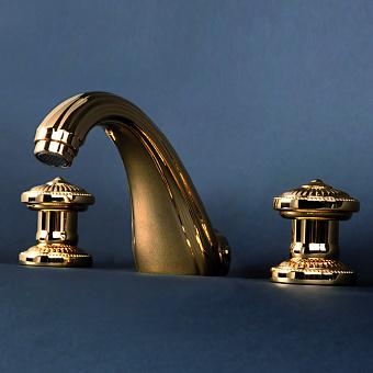 Cristal et Bronze Bonroche Смеситель для ванны, излив 160 мм, цвет золото 24 к.
