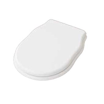 Artceram HERMITAGE Сиденье для унитаза цвет белый, с микролифтом шарниры хром