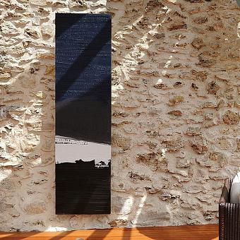 Cinier Blue Cargo Дизайн-радиатор 220x50 см. Мощность 1650 W