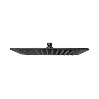 Bongio Soffioni Верхний душ 250х250 мм, цвет: черный матовый